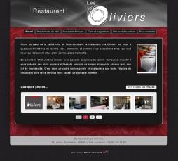 restaurant les oliviers - accueil